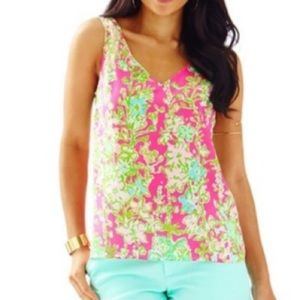 Lilly Pulitzer Cipriani Top Flamingo Pink